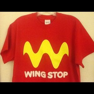Wing Stop T-shirt New